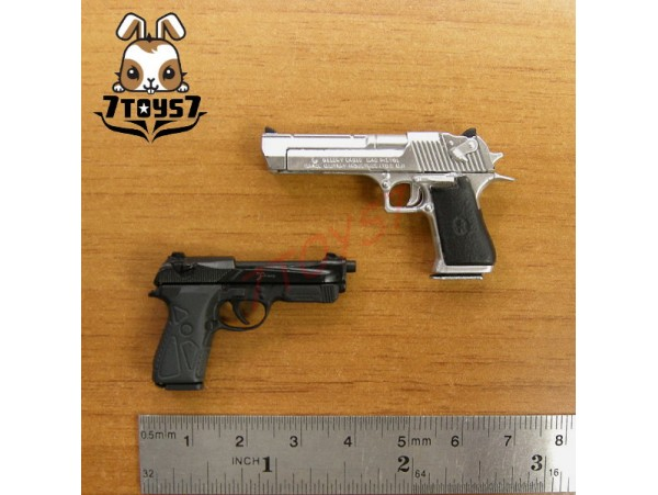 ACI Toys 1/6 Pistol Set #C_ Desert E and 90 Two _Toys gun Firearms Now AT033Y