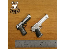 ACI Toys 1/6 Pistol Set #D_ Eagle and 90 Two _Toys gun Firearms Now AT033Z