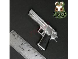 ACI Toys 1/6 Pistol_ Desert E Silver _Figure Toys gun Modern AT033B