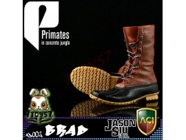 ACI Toys x Jason Siu 1/6 Primates in concrete jungle_ Boots _Brad Now AT040D