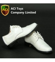 ACI Toys 1/6 Dress Shoes_ White (ACI-744) AT013F