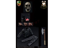 ACI Toys 1/6 Skull Power 2.0 Axe + Toe Boots_ Set _AT105B