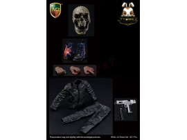 ACI Toys 1/6 Skull Power 2.0 Pistol + Heel Boots_ Set _AT105C