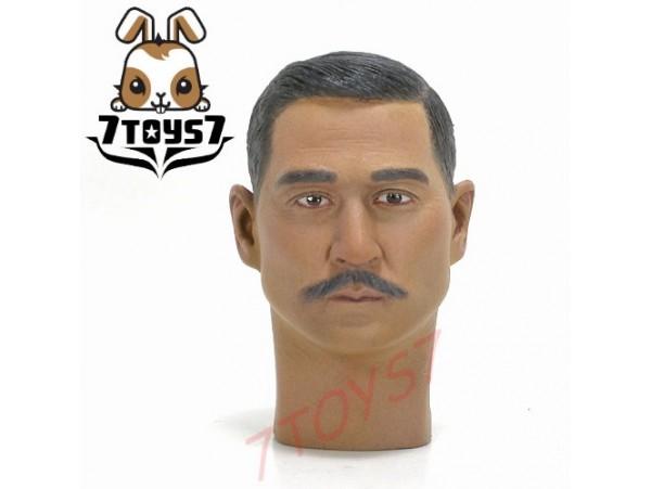 ACI Toys 1/6 Generalissimo Sun Yat Sen_ Head _100 Anni Revolution 1911 AT025B
