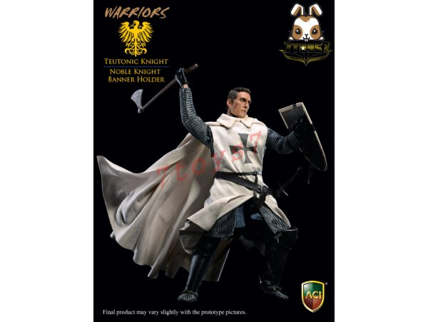 [Pre-order] ACI Toys 1/6 ACI25A Teutonic Knight: Noble Knight Banner Holder_ Box Set_AT094X