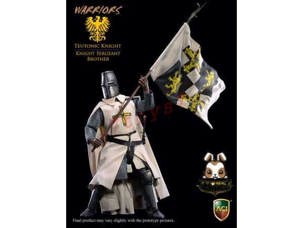 [Pre-order deposit] ACI Toys 1/6 ACI25B Teutonic Knight: Knight Sergeant Brother_ Box _AT094Z