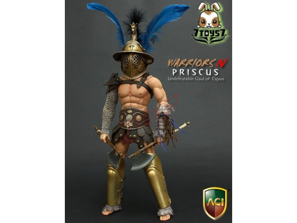 ACI Toys 1/6 Gladiator of Rome Warriors 4 - Priscus_ Box Set _chest belt peeling defect AT035Z