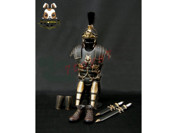 ACI Toys 1/6 Roman General Black Armour Set (ACI-754C)_ Box set AT031W