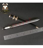 ACI Toys 1/6 Roman General Black Armor Set (ACI-754C)_ Sword + Sheath AT031WA