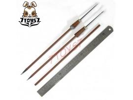 ACI Toys 1/6 Total Rome - Roman Elite Optio_Javelin / Spear + Rod_Ancient AT055E