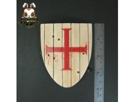 ACI Toys 1/6 ACI24A Templar Knight Brother_ Shield _Medieval Crusader Now AT079L