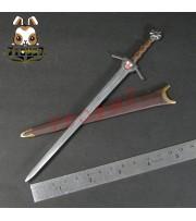 ACI Toys 1/6 ACI24C Templar Knight Banner Holder_ Sword+Sheath _Crusader AT081M