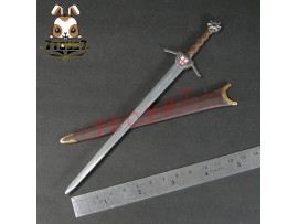ACI Toys 1/6 ACI24C Templar Knight Banner Holder_ Sword+Sheath _Crusader AT081M