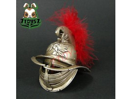 ACI Toys 1/6 Gladiator Verus B_ Helmet w/ red feath_Roman Warriors IV Now AT043G