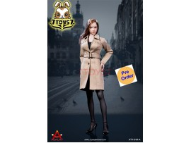 [Pre-order] ACPLAY 1/6 ATX049A Female trench coat suit_ Set A _AC003A