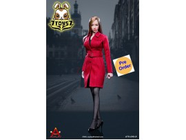 [Pre-order] ACPLAY 1/6 ATX049B Female trench coat suit_ Set B _AC003B