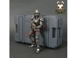 ORITOY 1/18 Acid Rain: Abaddon Trooper Omange Military_ Box Set _ship Now OT014Y