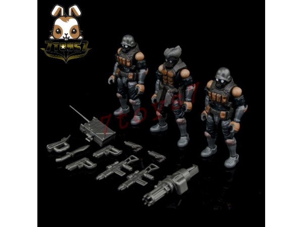 Beaver 1/28 Acid Rain: Bucks Team Trooper 2.5 Soldier_ Set of 3 _BV009Y