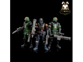 Beaver 1/28 Acid Rain: Military Infantry K6 Jungle Soldier_ Set of 3 _Now BV002Z