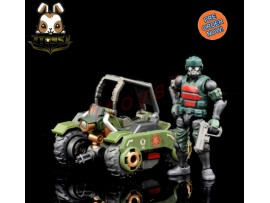 [Pre-order] Beaver 1/28 Acid Rain: Military Infantry K6 Jungle Speeder MK1K w/ Soldier_ Set _BV007Z