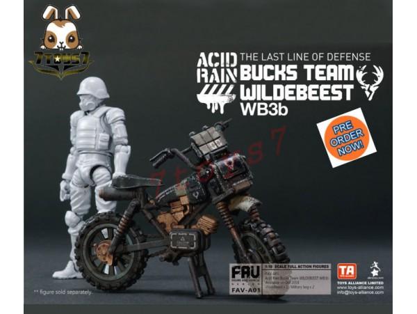 [Pre-order] ORITOY 1/18 Acid Rain - Bucks Team Wildebeest WB3b_ Box Set _OT022Z