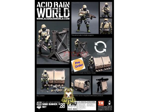 [Pre-order] ORITOY 1/18 Acid Rain FAV-A04 Sand Bunker_ Set _OT026A