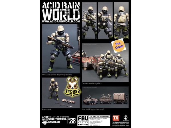 [Pre-order] ORITOY 1/18 Acid Rain FAV-A05 Sand Tactical Engineer_ Set _OT026B