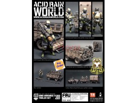 [Pre-order] ORITOY 1/18 Acid Rain FAV-A06 Sand Armored Trailer_ Set _OT026C