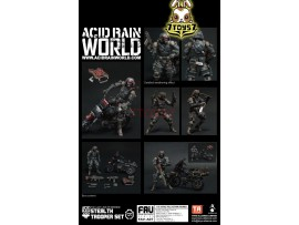 ORITOY 1/18 Acid Rain FAV-A07 Stealth Trooper w/ Wildbeest_ Set _OT027Z
