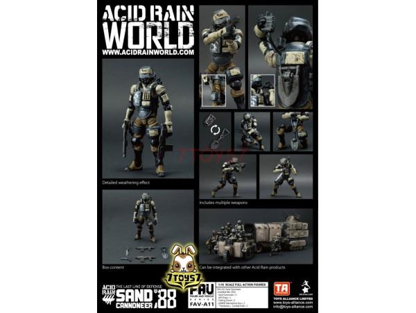 Toys Alliance 1/18 FAV-A11 Acid Rain - Sand Cannoneer_ Box Set _OT031Z