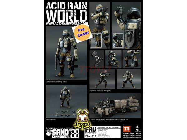 [Pre-order deposit] Toys Alliance 1/18 FAV-A11 Acid Rain - Sand Cannoneer_ Box Set _OT031Z