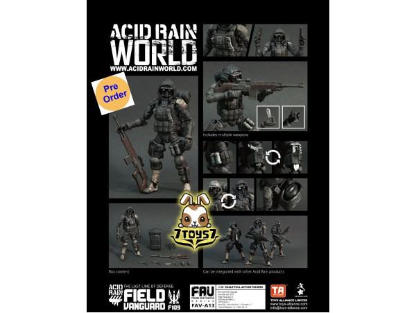 [Pre-order deposit] Toys Alliance 1/18 FAV-A13 Acid Rain - Field Vanguard_ Box Set _OT033Z