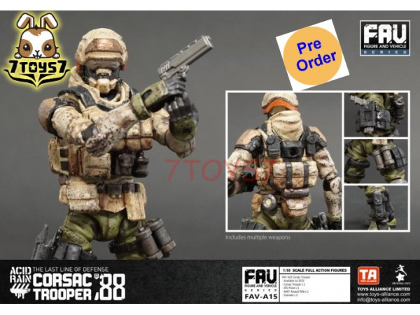 [Pre-order deposit] Toys Alliance 1/18 FAV-A15 Acid Rain - Corsac Trooper_ Box Set _OT034B
