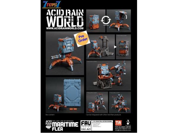 [Pre-order deposit] Toys Alliance Acid Rain 1/18 FAV-A21 Maritime Flea_ Box Set _OT036C