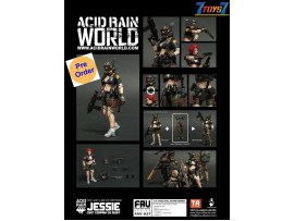 [Pre-order deposit] Toys Alliance Acid Rain 1/18 FAV-A27 Jessie - Civet Company G2 Agent_ Box Set _OT041Z