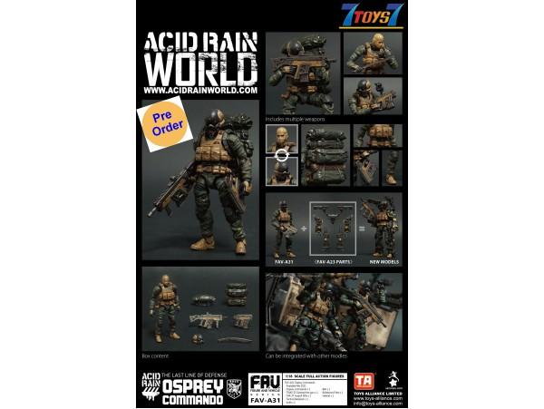 [Pre-order deposit] Toys Alliance Acid Rain 1/18 FAV-A31 Osprey Commando_ Box Set _OT046A