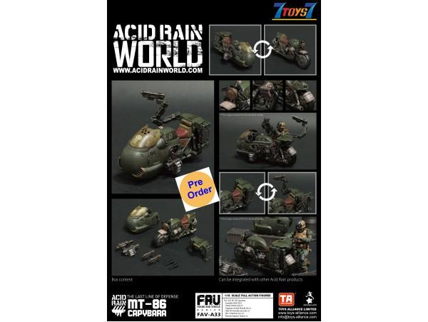 [Pre-order deposit] Toys Alliance Acid Rain 1/18 FAV-A33 MT-86 Capybara_ Set _OT047A