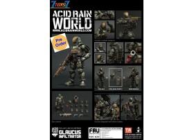 [Pre-order deposit] Toys Alliance Acid Rain 1/18 FAV-A34 Glaucus Infiltrator_ Box Set _OT047B