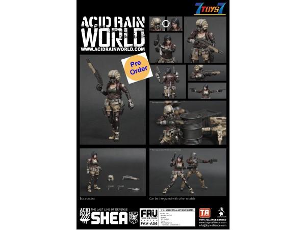[Pre-order deposit] Toys Alliance Acid Rain 1/18 FAV-A36 Shea_ Box Set _OT059Z
