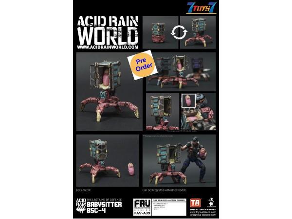 [Pre-order deposit] Toys Alliance Acid Rain 1/18 FAV-A39 Babysitter BSC-4_ Box Set _OT064Z
