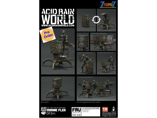 [Pre-order deposit] Toys Alliance Acid Rain 1/18 FAV-A42 Marine Flea DF3m_ Box Set _OT067Z