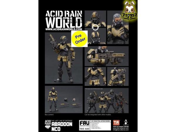 [Pre-order deposit] Toys Alliance Acid Rain 1/18 FAV-A43 Abaddon NCO_ Box Set _OT070Z