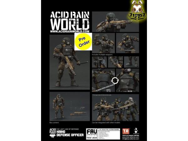 [Pre-order deposit] Toys Alliance Acid Rain 1/18 FAV-A44 Kaiho Defense Officer_ Box Set _OT071Z