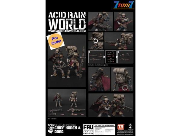 [Pre-order deposit] Toys Alliance Acid Rain 1/18 FAV-A54 Chief Koren & Doeg_ Box Set _OT086B