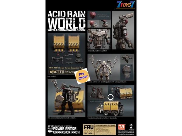 [Pre-order deposit] Toys Alliance Acid Rain 1/18 FAV-AP01 Power Armor Expansion Pack_ Box Set _OT052Z