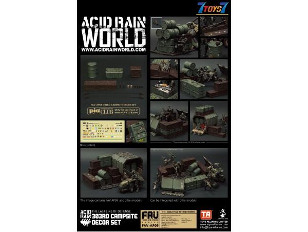 Toys Alliance Acid Rain 1/18 FAV-AP09 303rd Campsite Decor Set_ Set _OT061A