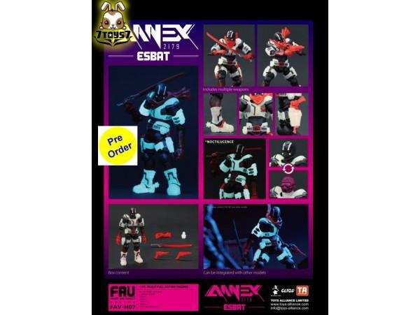 [Pre-order deposit] Toys Alliance Acid Rain 1/18 FAV-H07 Annex 2179 - Esbat_ Box Set _OT075Z