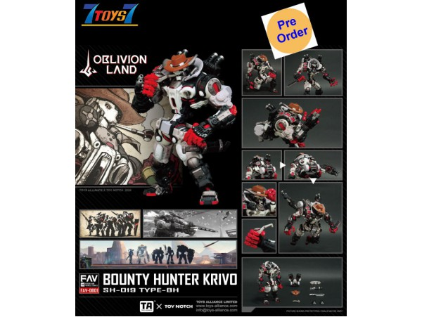[Pre-order deposit] Toys Alliance 1/18 FAV-OB01 Oblivion Land Bounty Hunter Krivo_ Box Set _OT049Z