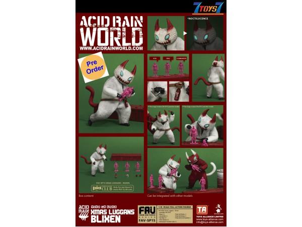 [Pre-order deposit] Toys Alliance Acid Rain 1/18 FAV-SP15 Xmas Luggans - Blixen_ Box Set _OT057A