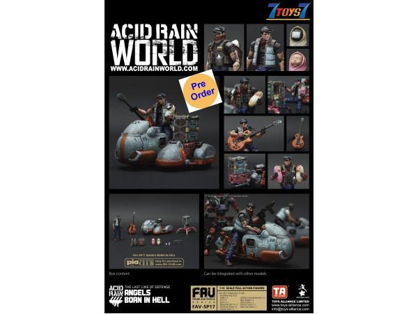 [Pre-order deposit] Toys Alliance Acid Rain 1/18 FAV-SP17 Angels Born In Hell_ Box Set _OT062Z